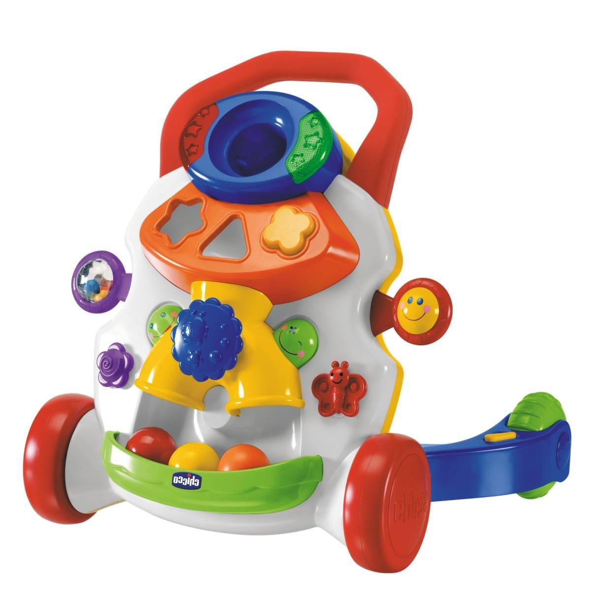 IDEAS DE REGALO para bebés a partir de 6 meses hasta 12 meses - Correpasillos andador de Chicco para regalar www.madreyblogger.com