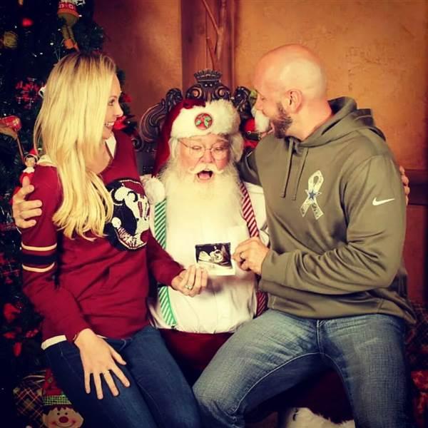 Ideas para anunciar el embarazo durante las navidades en www.madreyblogger.com