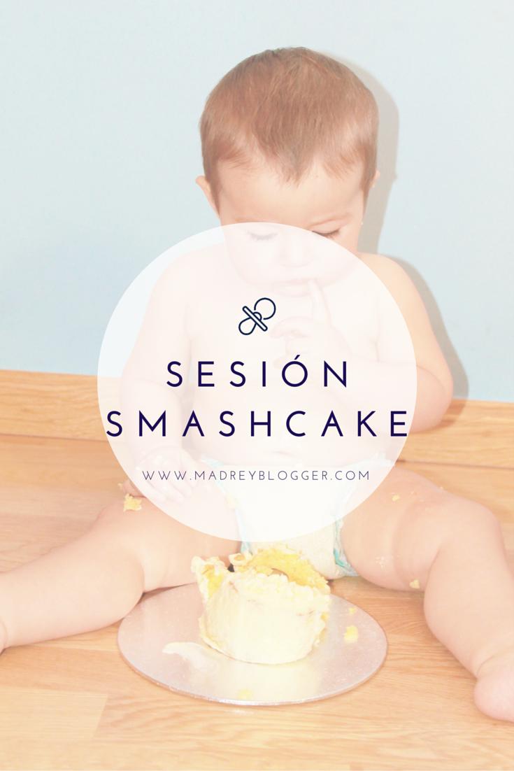 Primer cumpleaños: Sesión Smash cake en www.madreyblogger.com