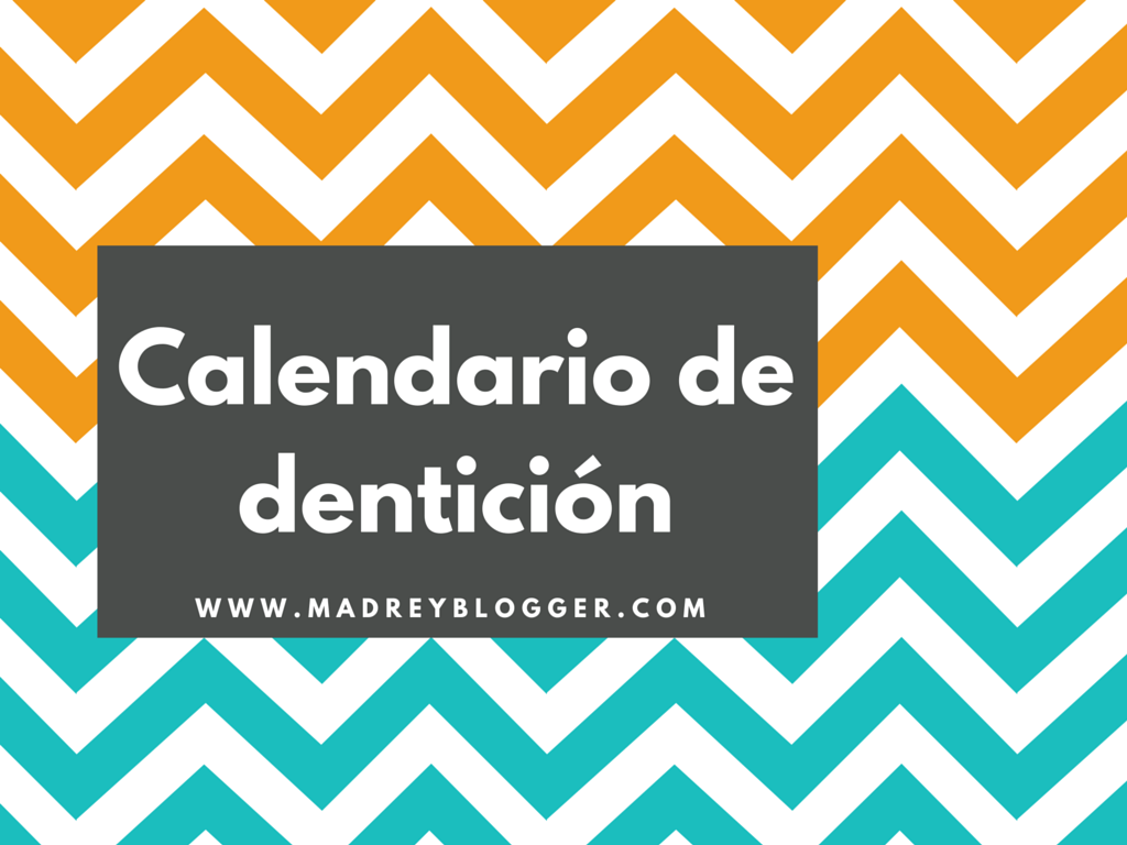 Calendario de dentición