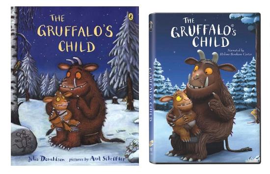 Libro y DVD The Gruffalo's Child