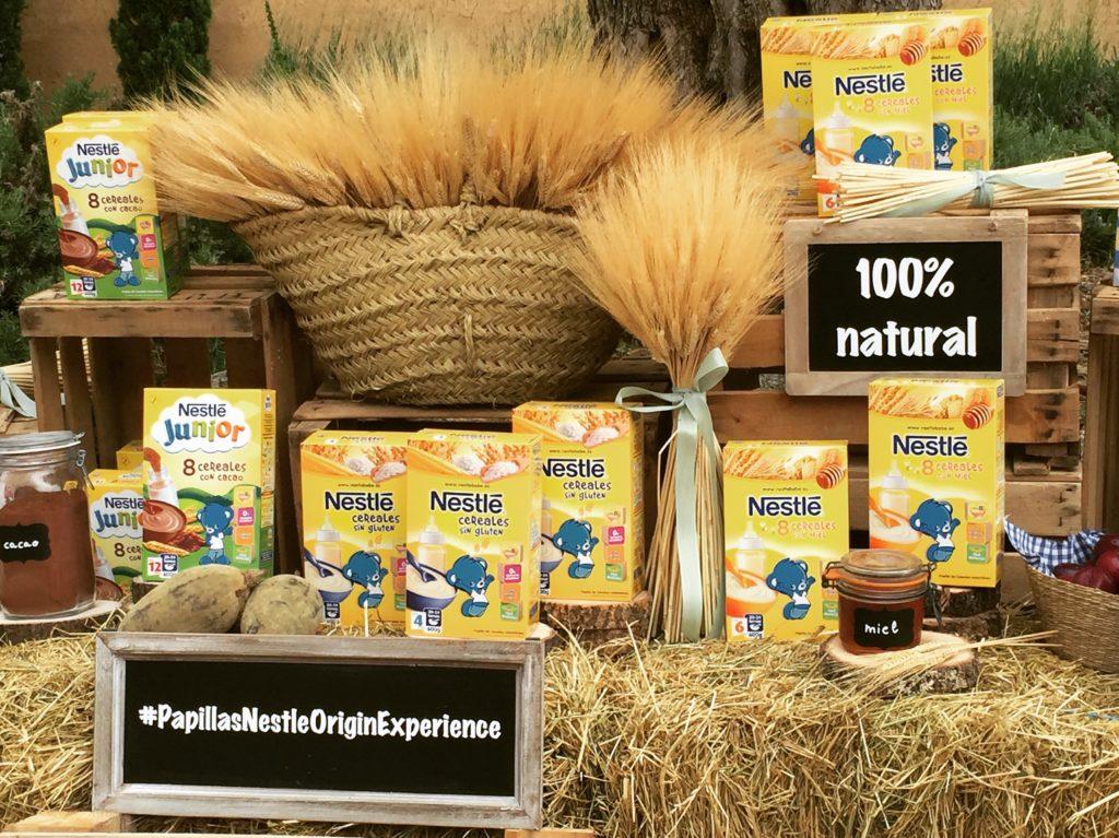 Papillas Nestlé Origin Experience