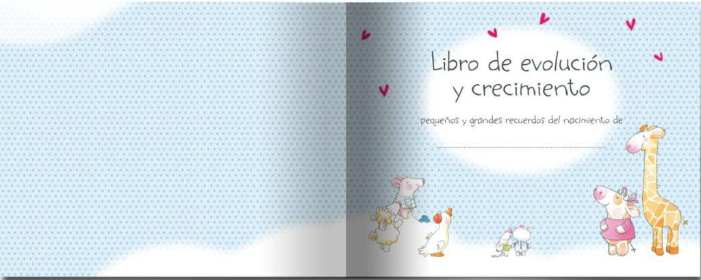 album libro de recuerdos del bebe