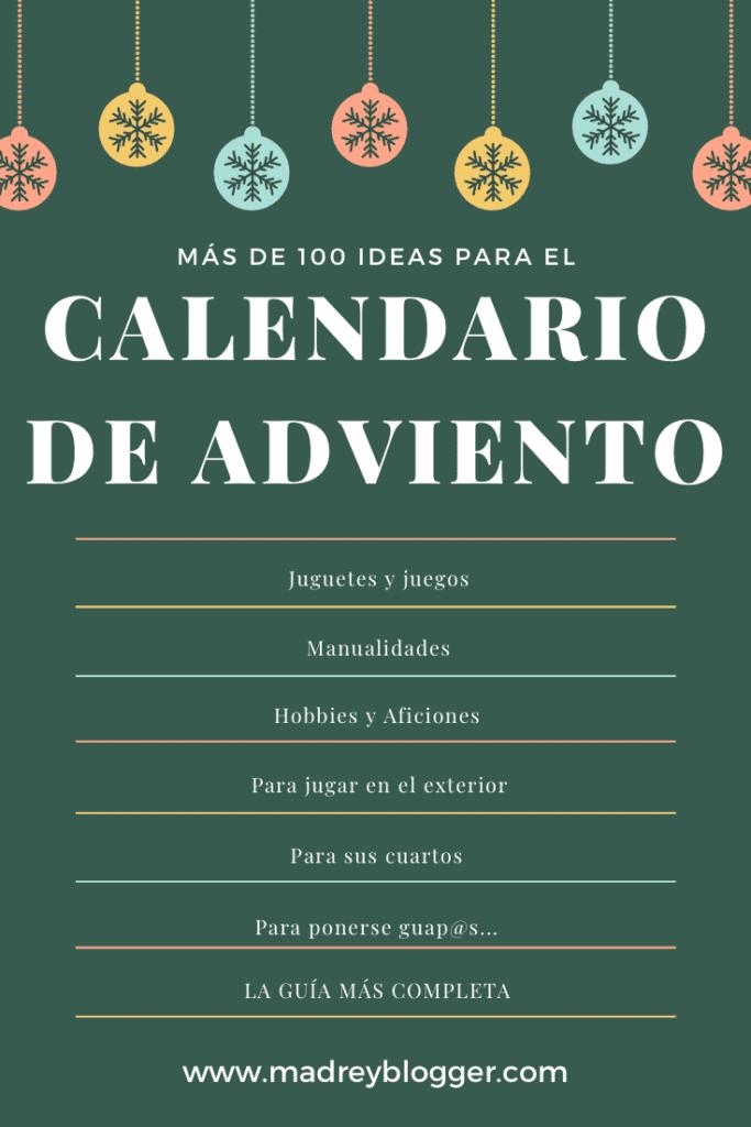 Ideas calendario de adviento 2020